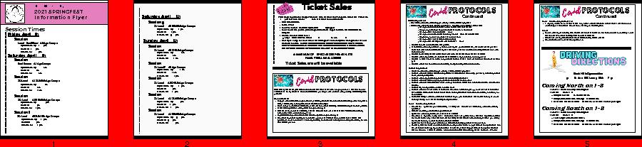 Spring Fest Flyer Showcase 2